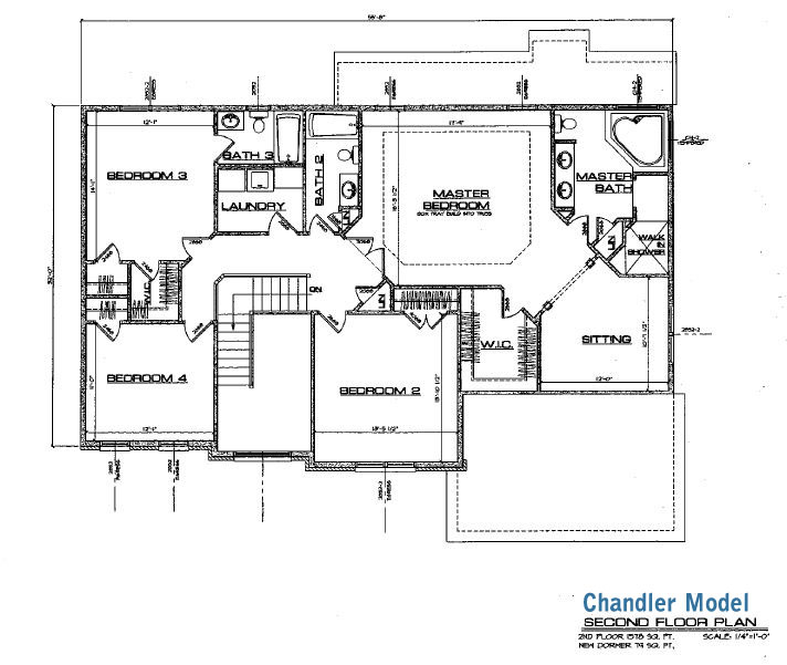 Chandler Model Elevations And Floor Plans